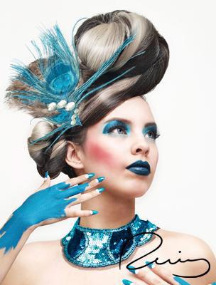 """Black Conscience"" Model: Mara G. Makeup , Hair & photography by: Rosario Ruiz. "" - 1e461b1071463.5600c6d3b2c7f"