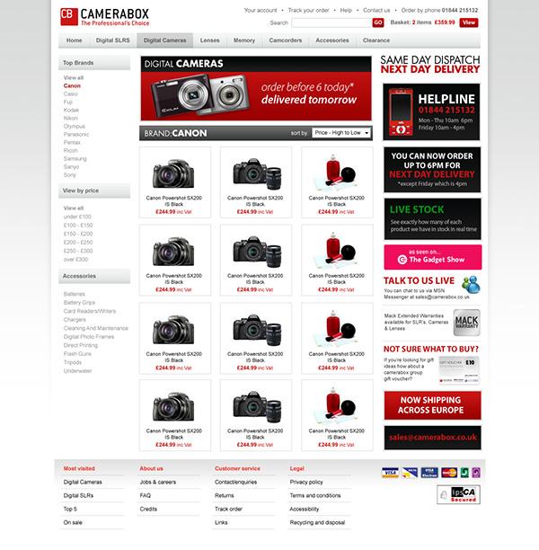 digital cameras electrical