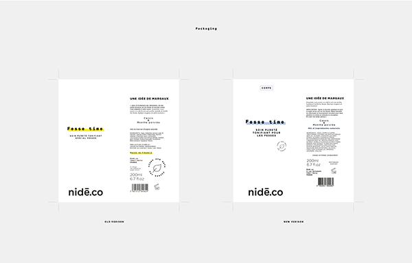 Nide.co new packagings