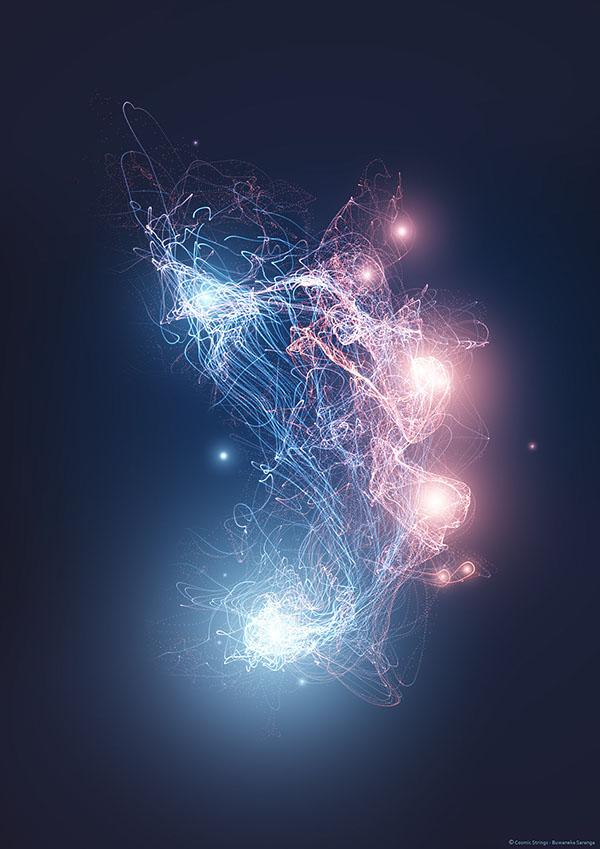 Resultado de imagen de El espesor estimado de una cuerda en la teoría