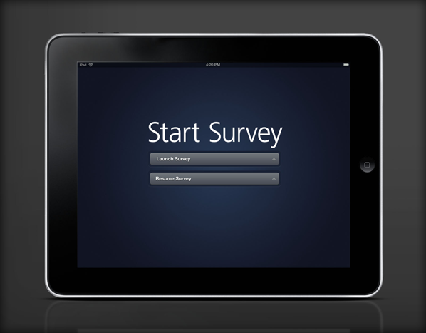 Survey app for ipad on adweek talent gallery - Application architecture ipad ...