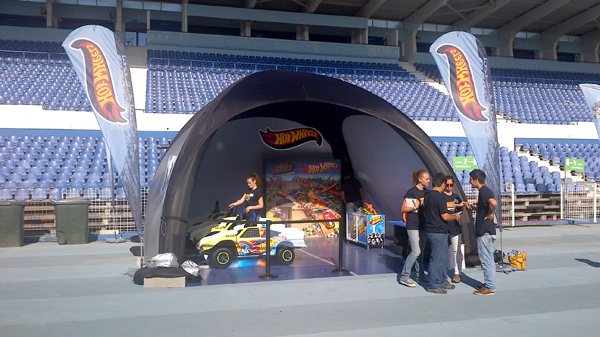 TENDA HOT WHEELS