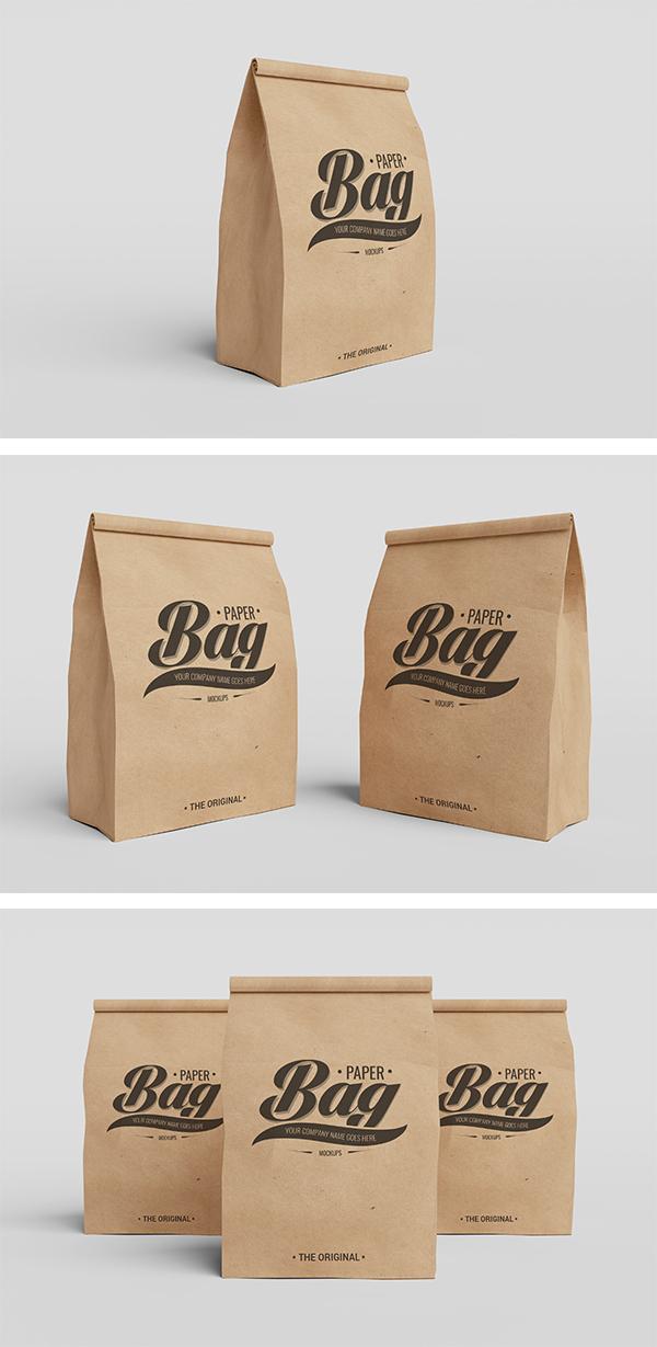 高質量的39個紙袋包裝欣賞