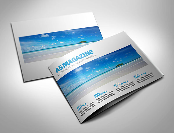 Booklet Brochure Template 01 On Behance