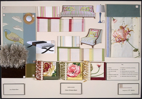 Sample board pro on behance for Interior design board software