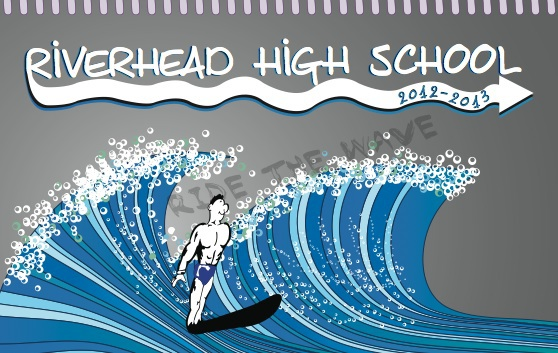 Riverhead High School Agenda Book Cover On Behance
