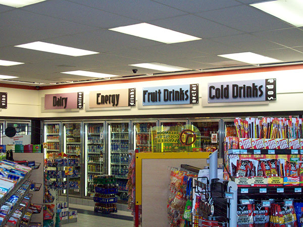 convenience store design ideas