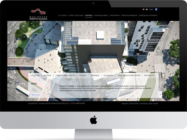 Residenze porta nuova website on wacom gallery - Residenze porta nuova ...