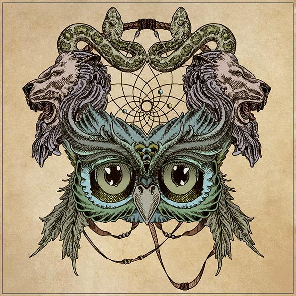 Quot Dreamcatcher Quot Album Art On Behance