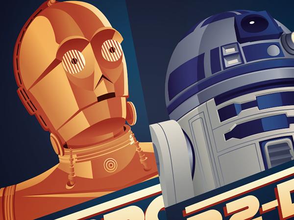 star wars c-3po R2-D2 C3PO R2D2