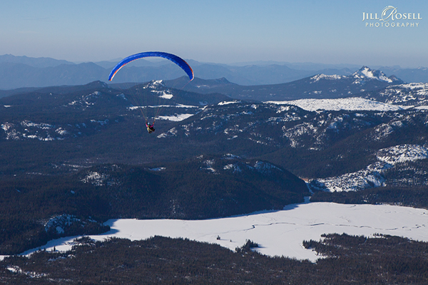Paragliding, Mt Bachelor 1/14 on Behance