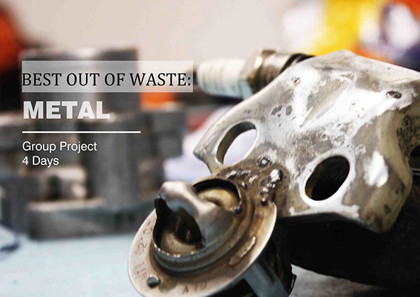 Best out of waste metal on behance for Best out of waste useful