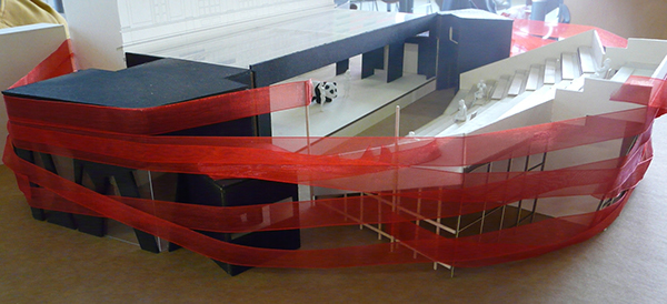 L'aquila Italy Theatre Temporary Architecture earthquake temporary theatre temporary