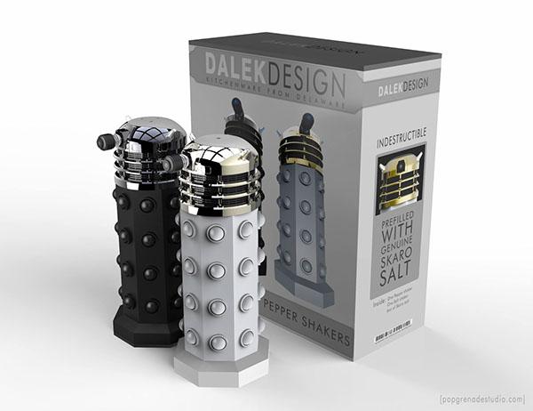 daleks Doctor Who KITCHENWARE cinema 4d 3D