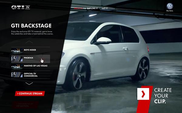 DDB GTI golf automotive