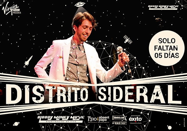 zoe Superlitio virgin tuBoleta distrito sideral festival musica Event GUTURO Esteman Catupecumachu Bucaramanga