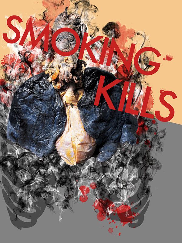 smoking  smoking kills  smoking propaganda anti smoking  smoking posters cigarette harm health problems