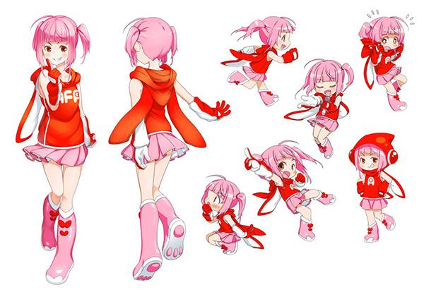 Character Design Job Singapore : Seika project on behance