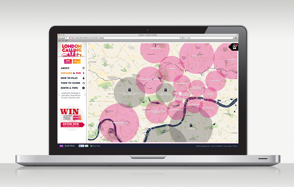 BBC BBC Worldwide Responsive Responsive Design custom map map google map London 2012 London