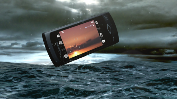 Samsung Commercial Ocean wave commercial