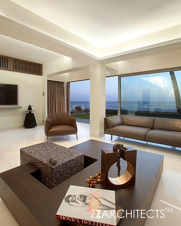 Apartment By The Beach By Zz Architects Mumbai India On