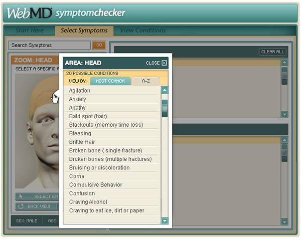 Symptom Checker for Women  MedicineNet