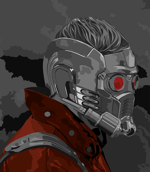 guardians peter quill star lord