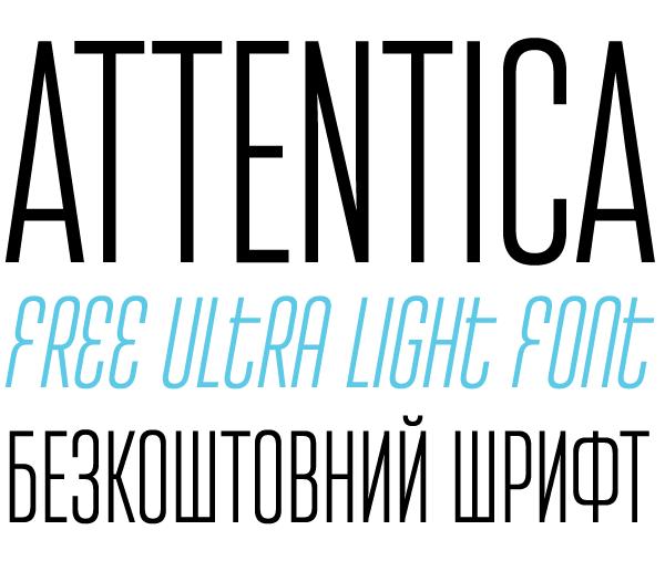 Attentica Font Download