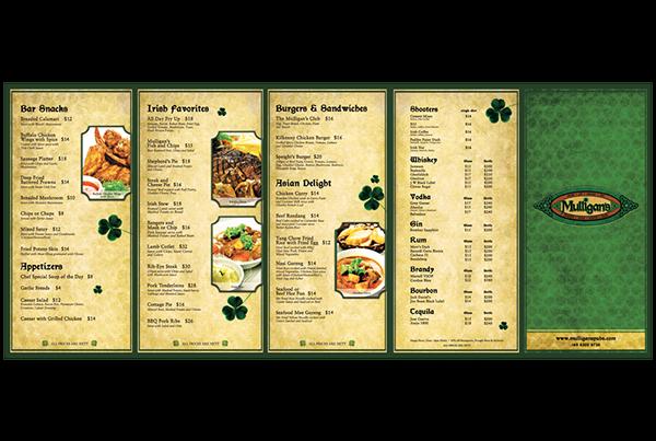 mulligans menu irish Food  CANNERY lifebrandz CLARK QUAY