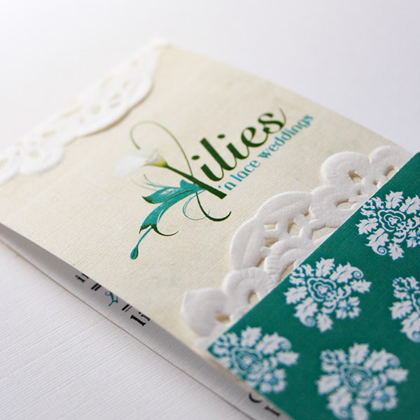 Lilies n lace business cards on behance reheart Choice Image