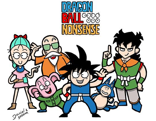 dragon ball dragon ball z dragon ball gt dragon ball nonsense comic strips comics Parody humor
