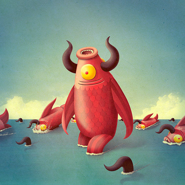 The walking fish on behance for The walking fish