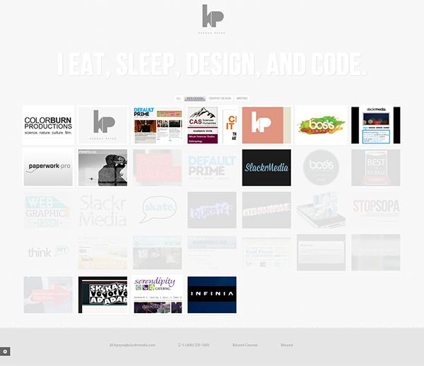 photoshop wireframes HTML css html5 css3 php