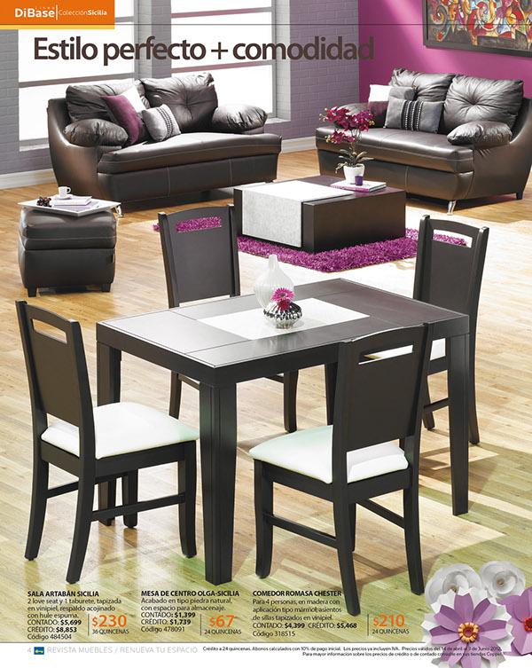 Muebles para ropa en coppel for Comedores coppel
