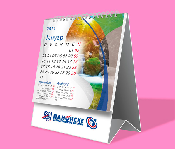 Calendar design on Behance