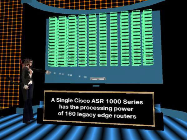 cisco systems launching the asr 1000 Cisco systems inc will launch a new router today for processing data, voice and video that is built atop its new quantumflow processor the router is the result of five years' research and an.