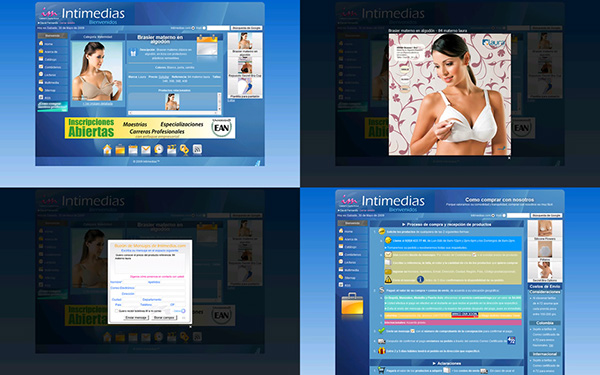 design Web corporative image ad publicidad corporativa diseño