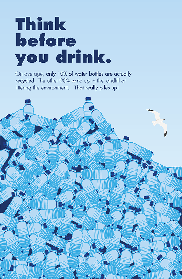 Anti Bottled Water Campaign Poster On Behance