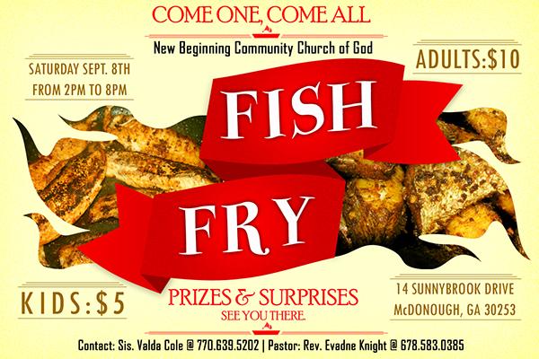 fish fry on behance