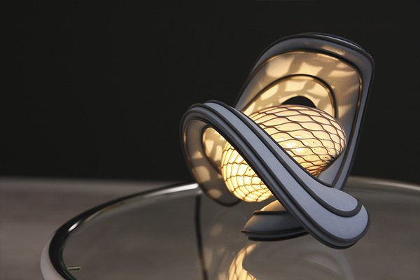 Cocoon Lamp 2nd Version 3d Printed On Behance