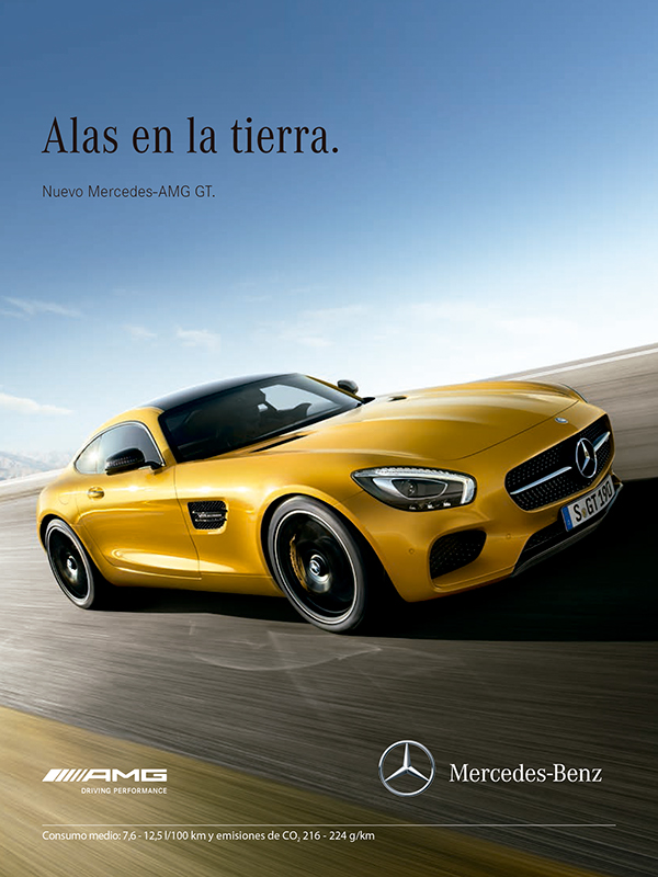 Mercedes Benz Of Miami >> New slogan campaign for Mercedes-Benz Spain on Behance
