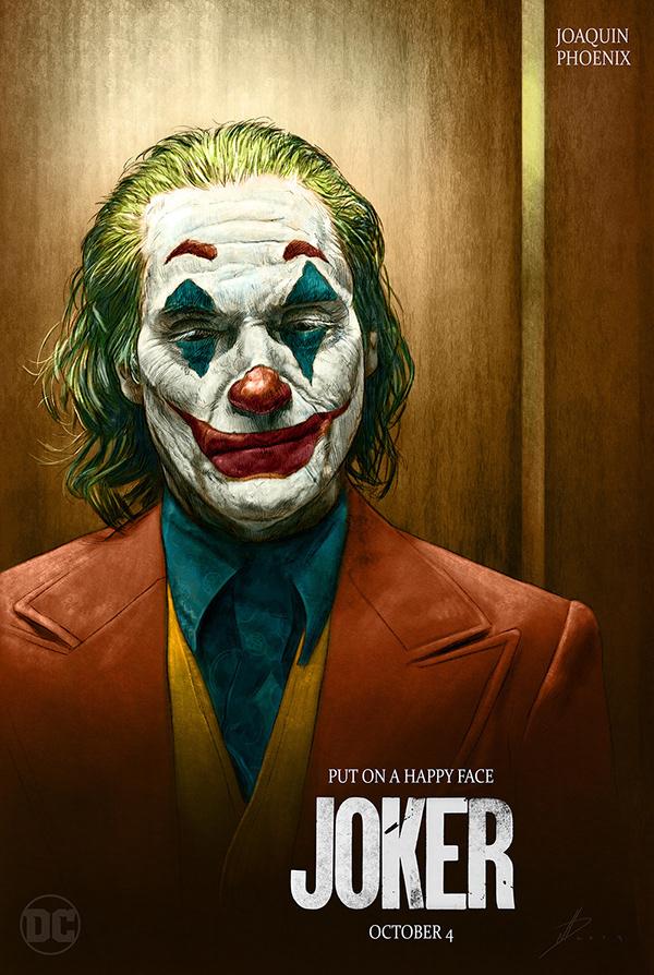 Joker alternative teaser poster on Wacom Gallery