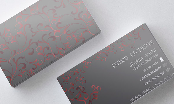 Business card designs on aiga member gallery i am working on designing at least 2 concepts a day to keep my creative juices flowing this is a more sleek and elegant business card design colourmoves