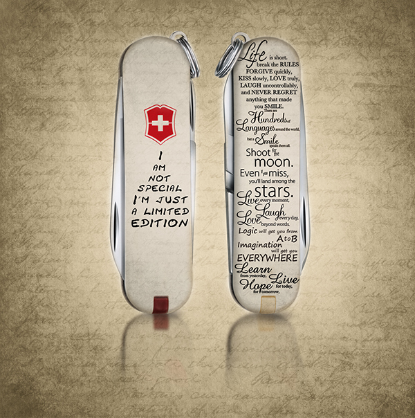Swiss Army Knife Limited Edition On Behance