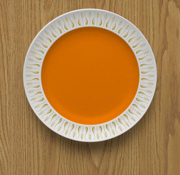 Fanfare Ornaments Berthold Wolpe tableware crockery ceramic decoration dinnerware plate china