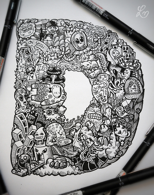 doodles doodle notebooks lei behance batch sketchpads melendres artist graffiti drawings drawing draw designs inspiration via contribution irvin ranada research
