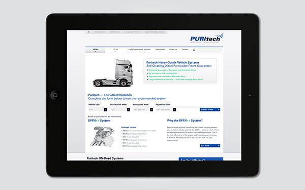 puritech  Technology  emissions  website  green  lez  london