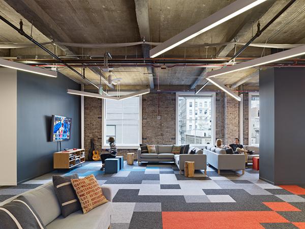 Pocket gems 2 0 on behance for Modern office design inspiration