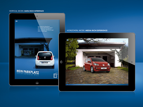 VW Up! IPad Catalogue App On Behance