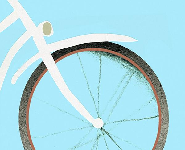 Bike madrid city hall